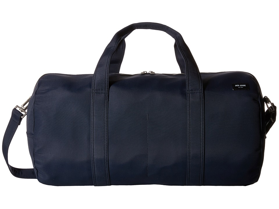 Jack Spade - Tech Travel Nylon Gym Duffel (Navy) Duffel Bags