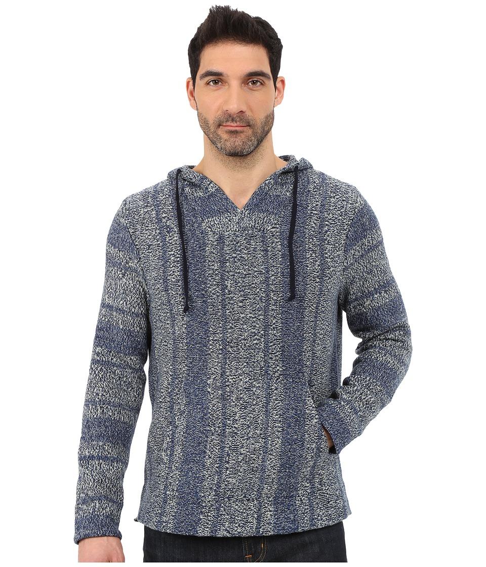 Lucky Brand - Santa Cruz Hoodie (Indigo) Men's Sweatshirt