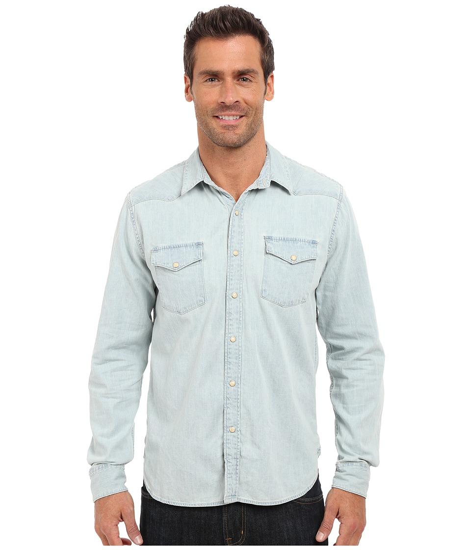 Lucky Brand - Huntington Denim Western Shirt (Dos Palos) Men's Clothing