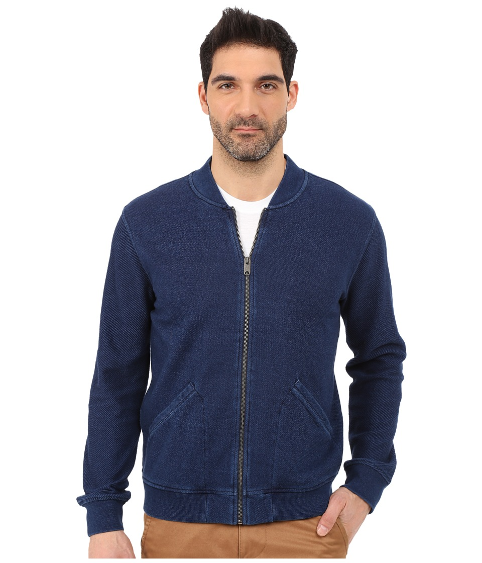 Lucky Brand - Bomber Jacket (Indigo) Men's Coat