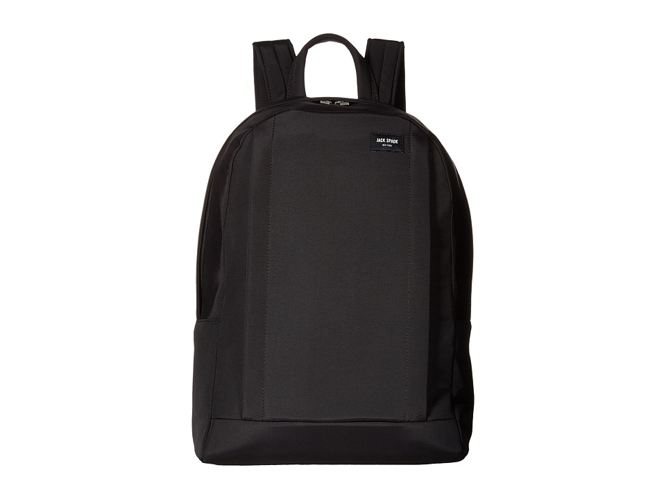 Jack Spade - Tech Travel Nylon Backpack (Black) Backpack Bags