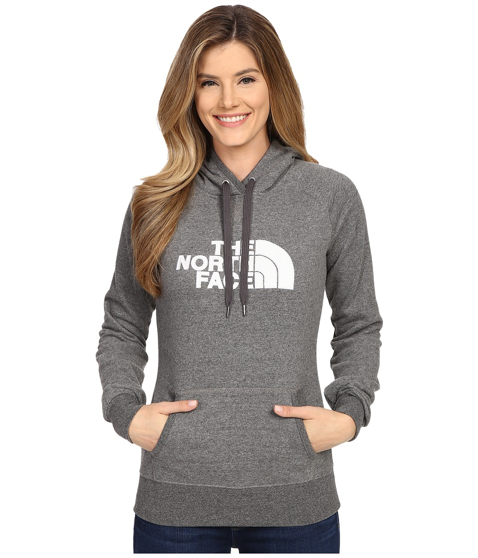 The North Face - Avalon Pullover Hoodie (TNF Medium Grey Heather/TNF White) Women's Sweatshirt