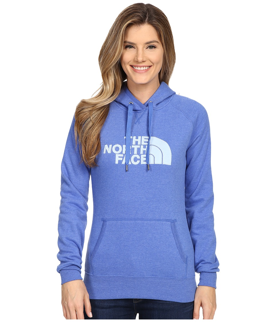 The North Face - Avalon Pullover Hoodie (Coastline Blue Heather/Powder Blue) Women's Sweatshirt