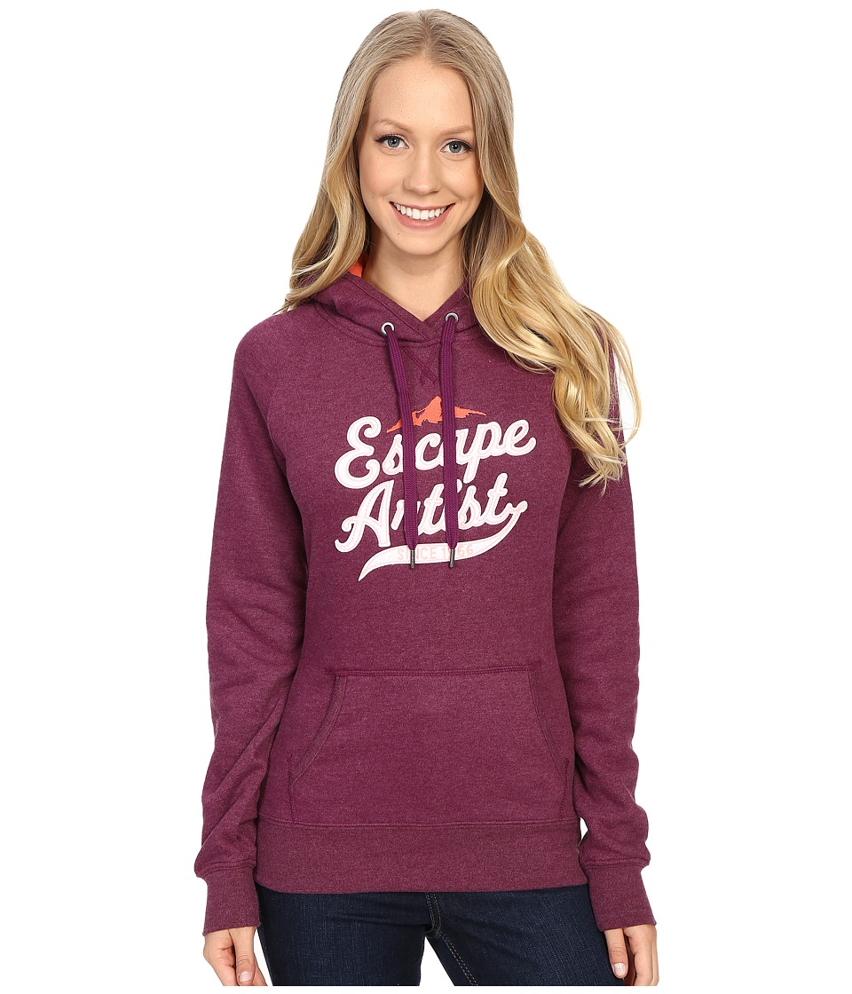 The North Face - Avalon Escape Artist Pullover Hoodie (Pamplona Purple Heather) Women's Sweatshirt