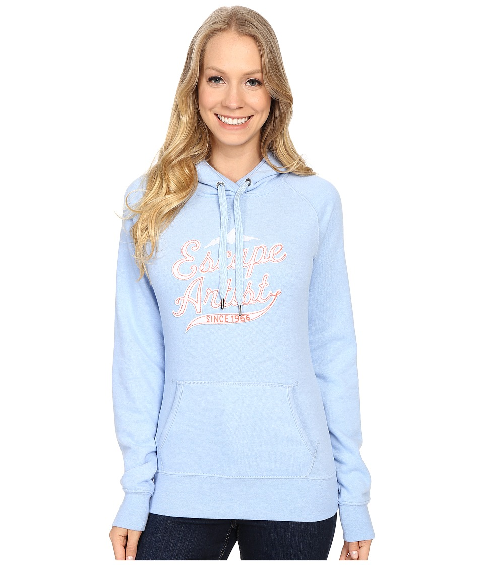 The North Face Avalon Escape Artist Pullover Hoodie (Powder Blue Heather) Women