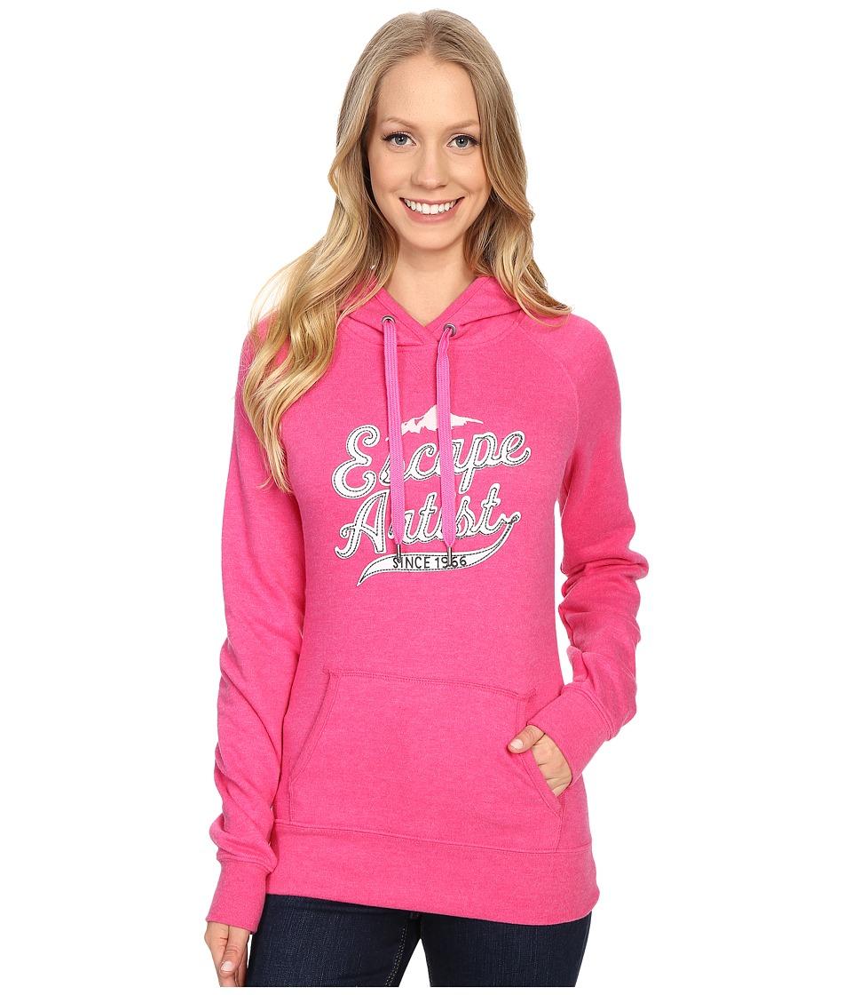 The North Face - Avalon Escape Artist Pullover Hoodie (Raspberry Rose Heather) Women's Sweatshirt
