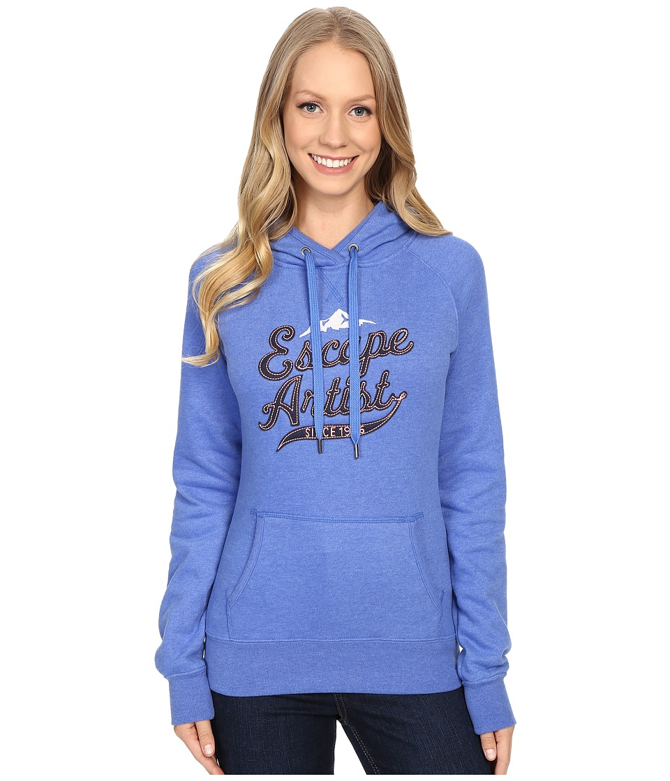 The North Face - Avalon Escape Artist Pullover Hoodie (Coastline Blue Heather) Women's Sweatshirt
