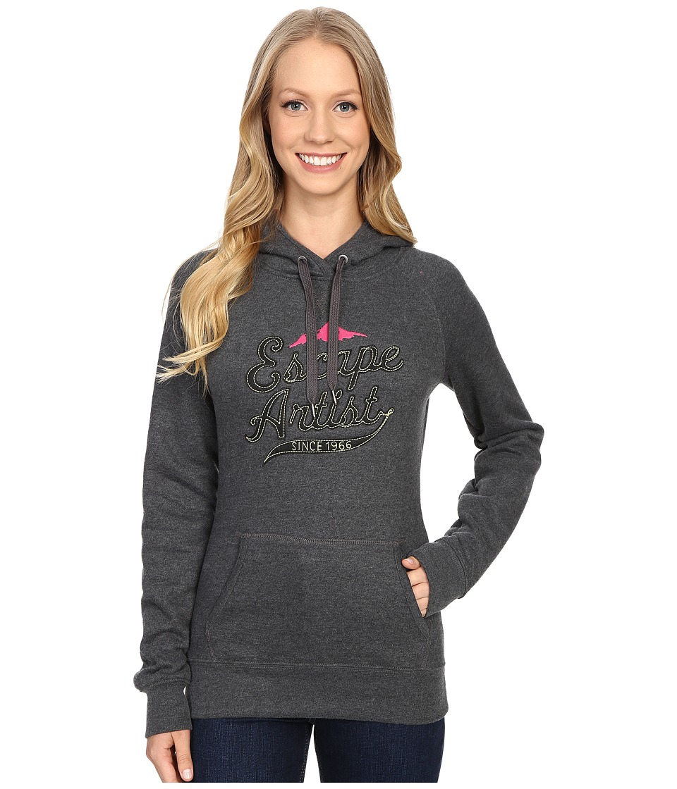 The North Face - Avalon Escape Artist Pullover Hoodie (TNF Dark Grey Heather) Women's Sweatshirt