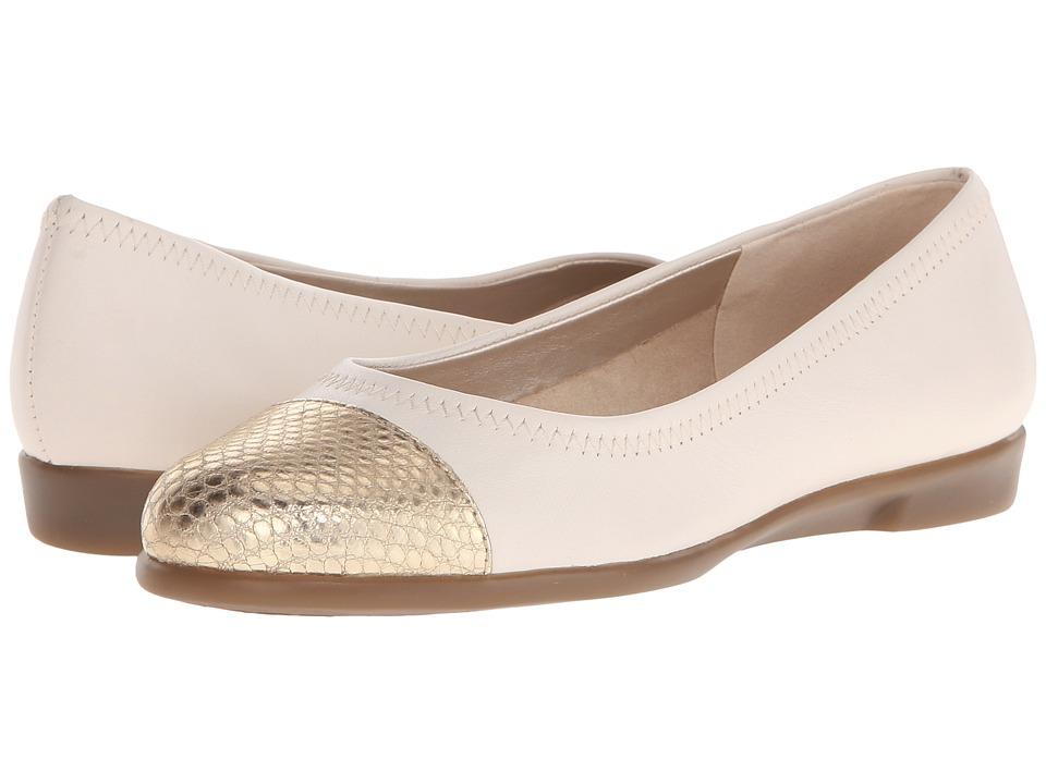 Image of Aerosoles - Bechnicolor (Bone Leather) Women's Flat Shoes