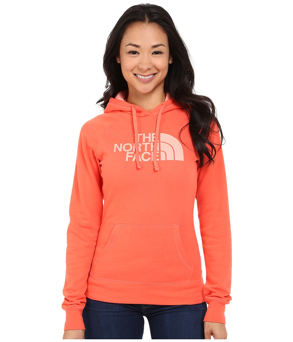 The North Face - Half Dome Hoodie (Radiant Orange/Neon Peach) Women's Sweatshirt
