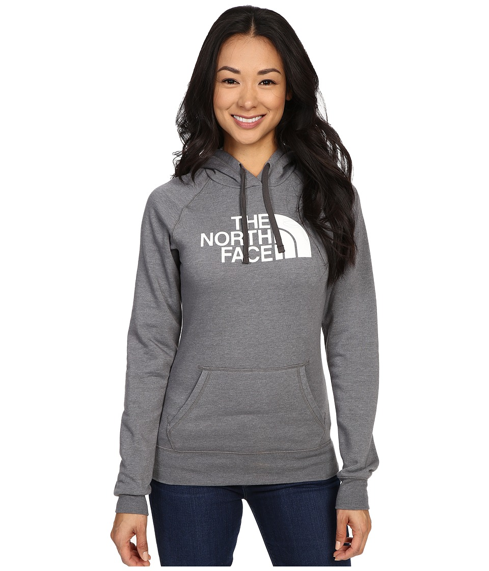 The North Face - Half Dome Hoodie (TNF Medium Grey Heather/TNF White) Women's Sweatshirt