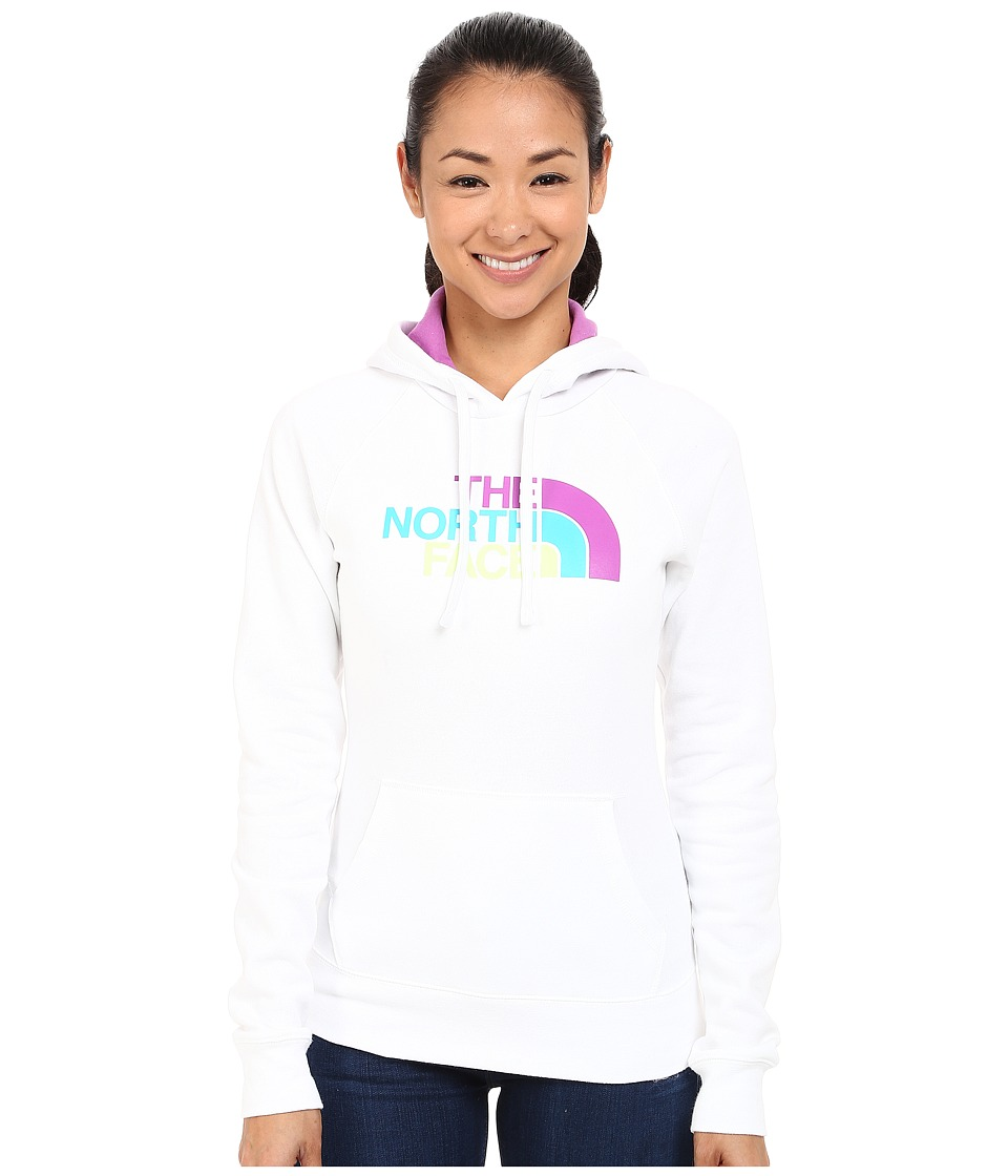 The North Face Half Dome Hoodie (TNF White/Sweet Violet Multi) Women