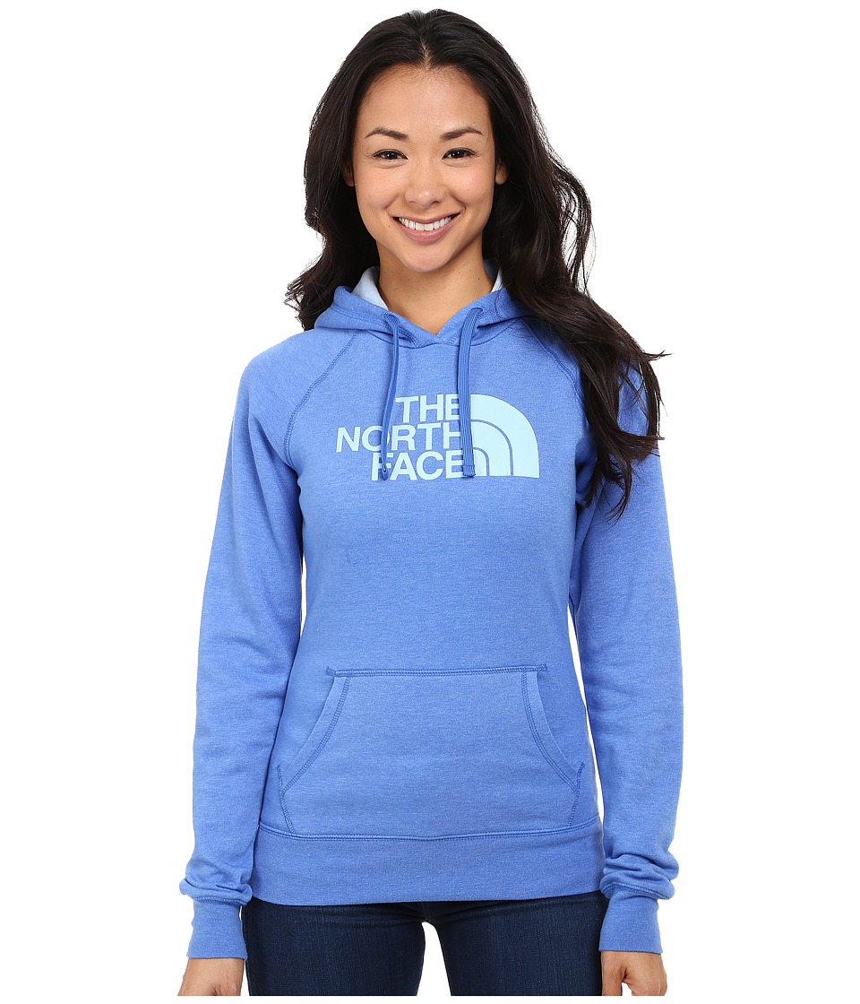 The North Face - Half Dome Hoodie (Coastline Blue Heather/Powder Blue) Women's Sweatshirt
