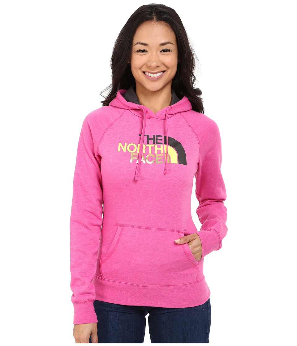 The North Face Half Dome Hoodie (Raspberry Rose Heather/Asphalt Grey Multi) Women