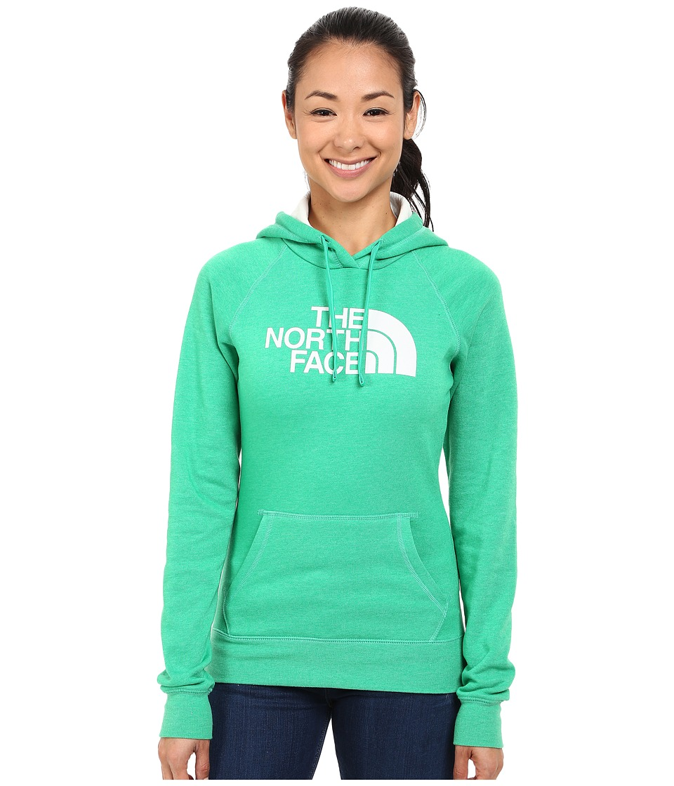 The North Face - Half Dome Hoodie (Blarney Green Heather/Vaporous Grey) Women's Sweatshirt