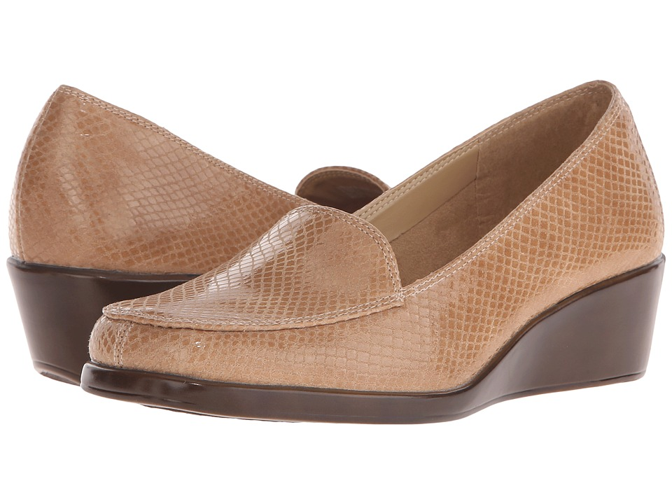 Aerosoles - Final Exam (Tan Exotic) Women's Wedge Shoes