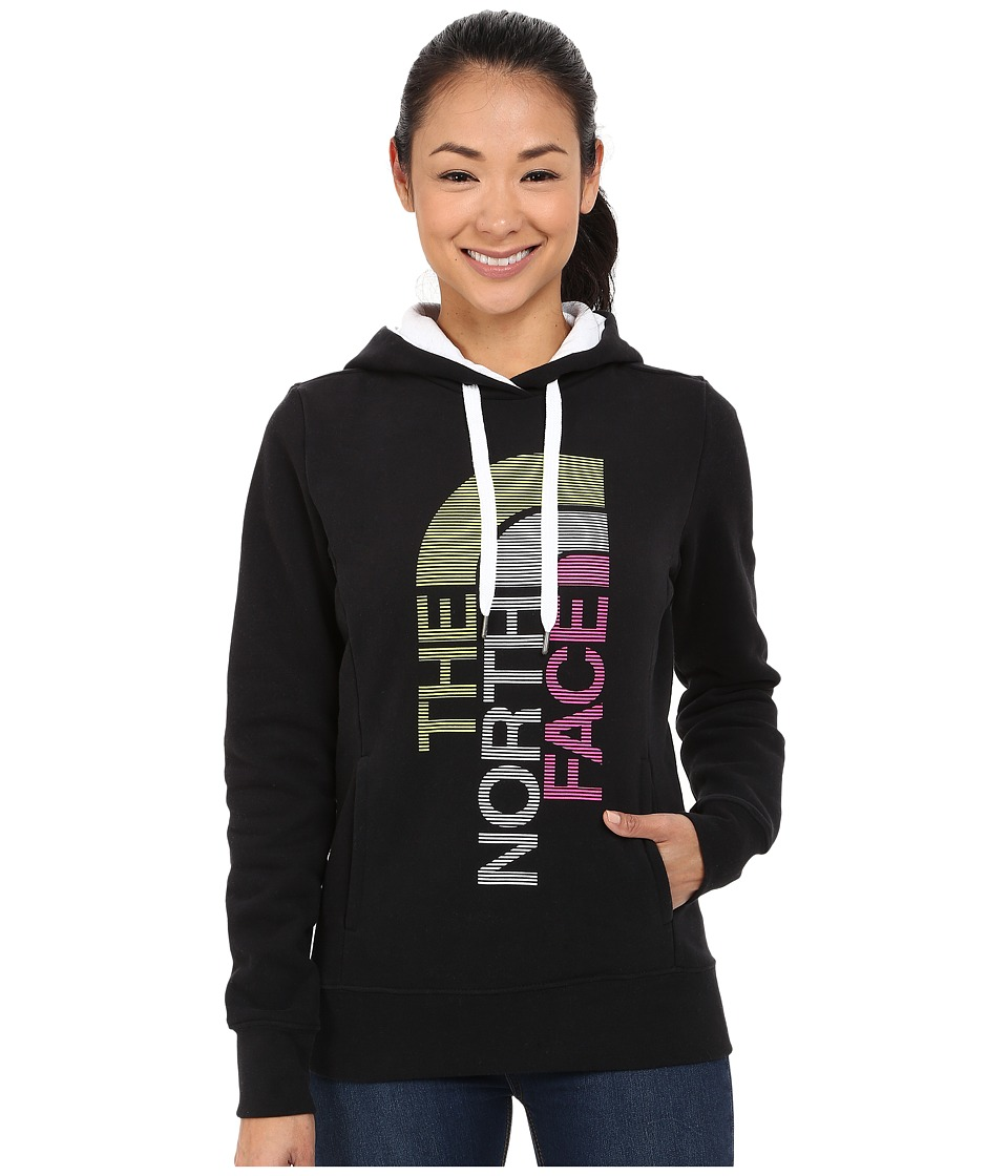 The North Face - TriVert Logo Pullover Hoodie (TNF Black/TNF White) Women's Sweatshirt