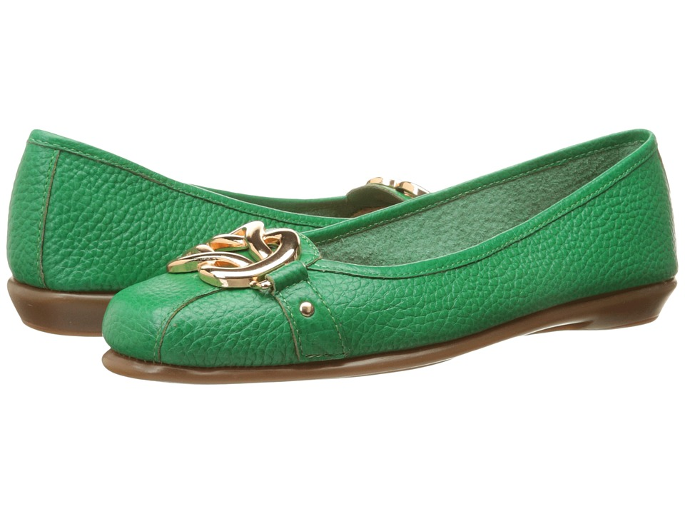 Aerosoles - High Bet (Green Leather) Women's Shoes
