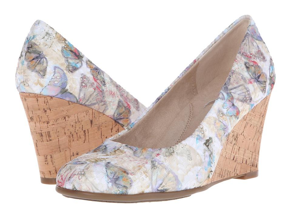 Aerosoles - Plum Tree (Bone Multi) Women's Wedge Shoes