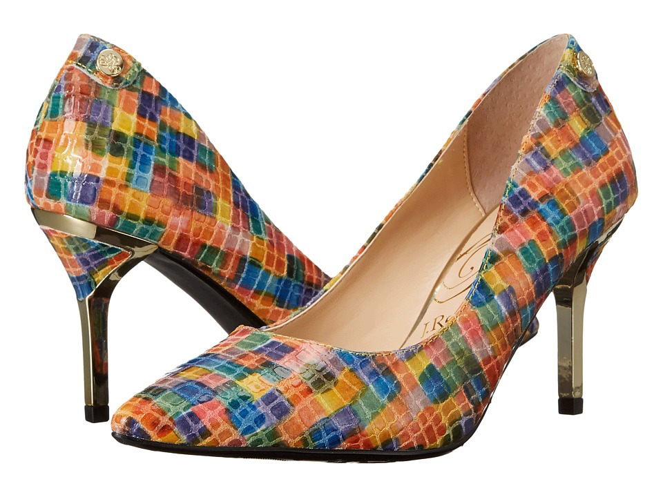 J. Renee Bryanne (Bright Multi) High Heels