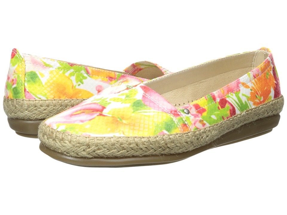 Aerosoles - Solitaire (Pink Floral) Women's Slip on Shoes