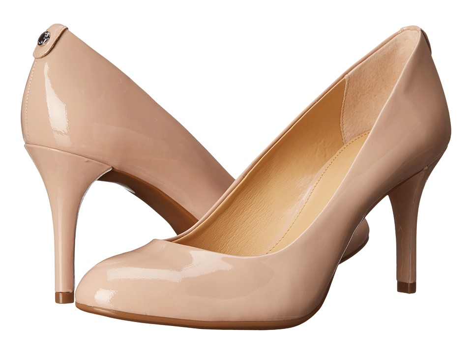 MICHAEL Michael Kors - MK Flex Pump (Light Blush Patent) High Heels