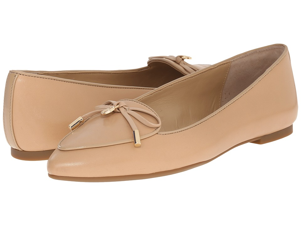 MICHAEL Michael Kors - Nancy Flat (Nude Smooth Calf) Women's Shoes