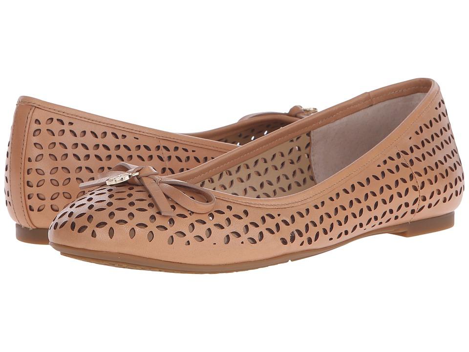 MICHAEL Michael Kors - Olivia Flat (Sun Tan Vachetta) Women's Flat Shoes