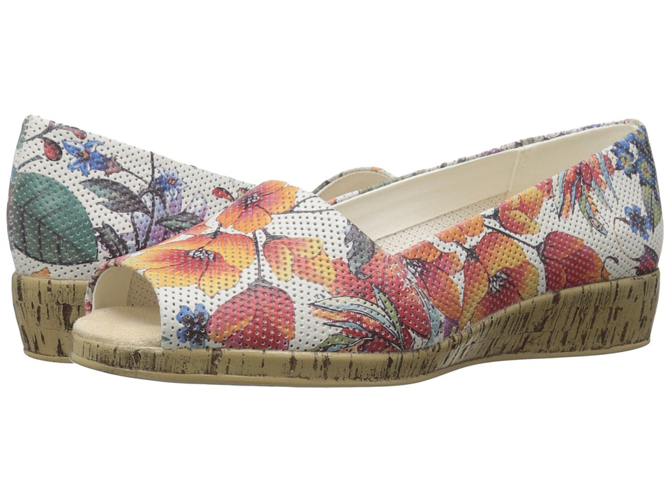 Aerosoles - Sprig Break (White Floral) Women's Shoes