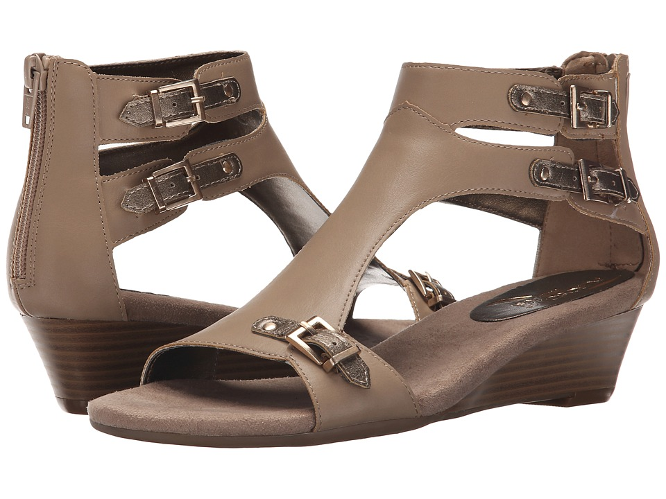 Aerosoles - Yet Another (Taupe Combo) Women's Wedge Shoes