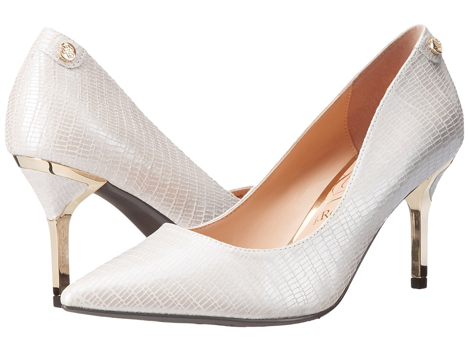 J. Renee Bryanne (White Pearl) High Heels