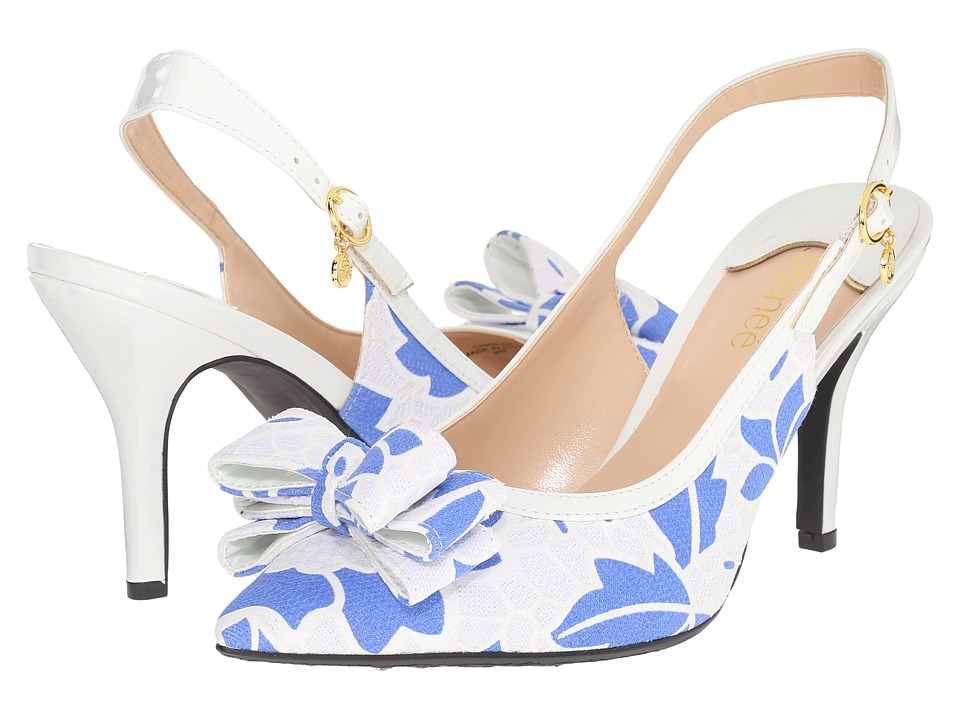 J. Renee - Charise (Blue/White) Women's Shoes