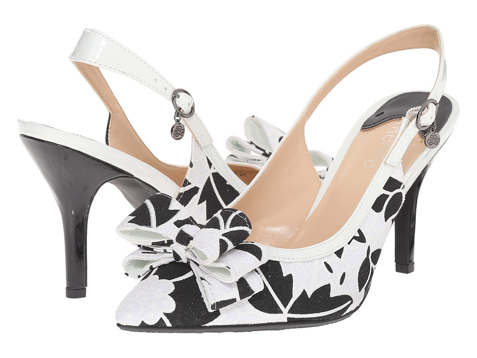 J. Renee - Charise (Black/White) Women's Shoes
