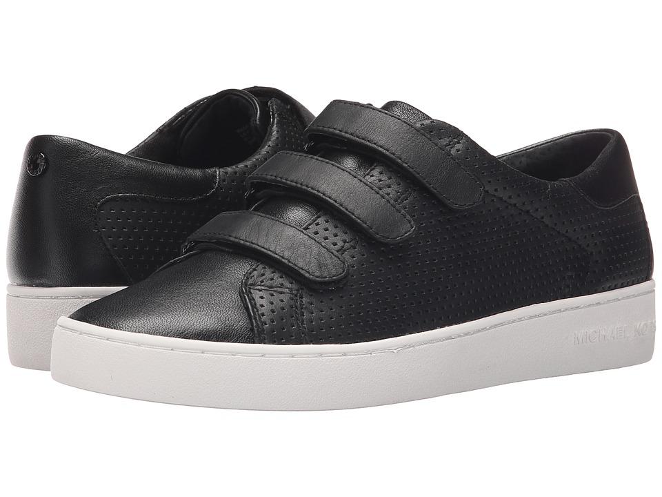 MICHAEL Michael Kors - Craig Sneaker (Black Vachetta Perforated/Suprema Nappa Sport) Women's Shoes
