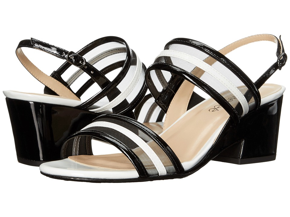 J. Renee Erma (Black/White) High Heels