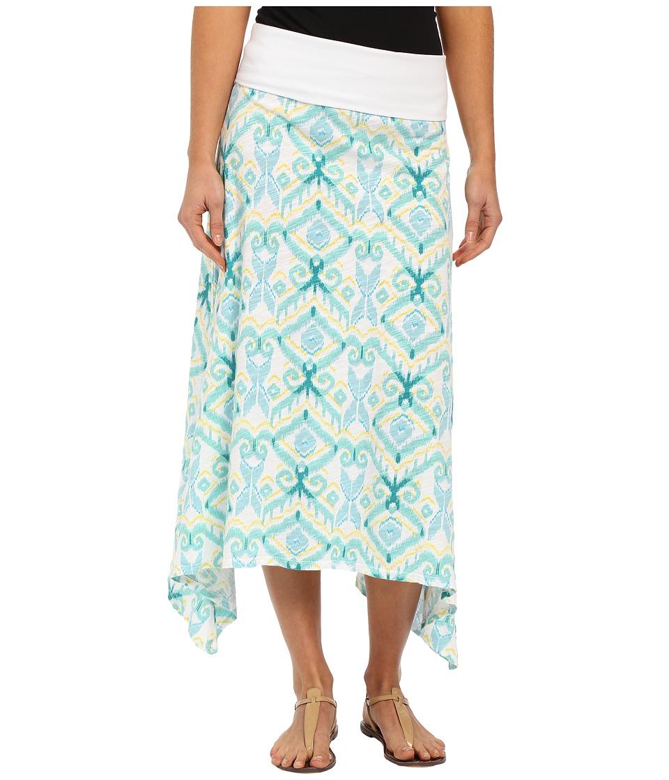 Fresh Produce - Ikat Surfside Skirt (White) Women's Skirt