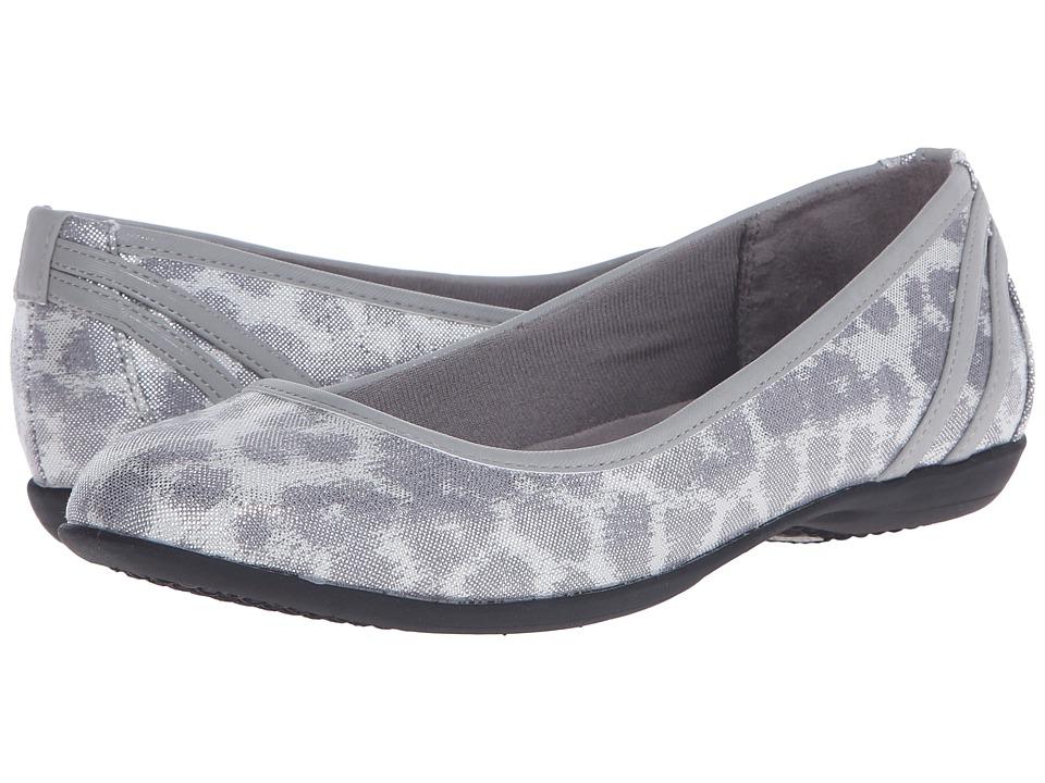 LifeStride - Airy (Silver/Slate Disco Leopard/Elf) Women's Flat Shoes