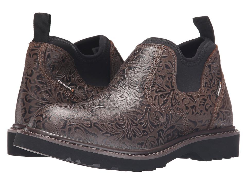 Carhartt - Romeo (Brown) Women's Slip on Shoes