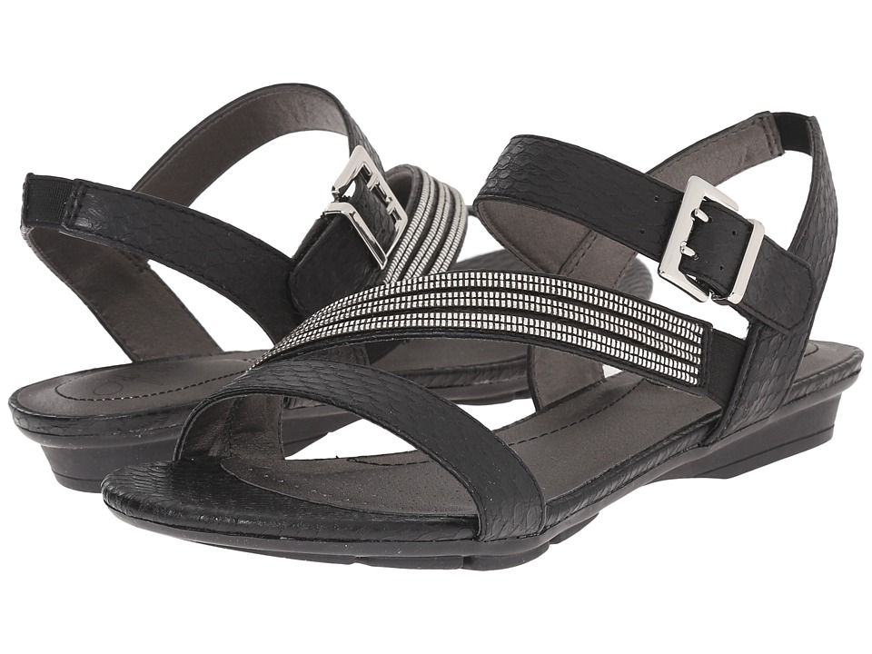 LifeStride - Enchant (Black Cano) Women's Sandals