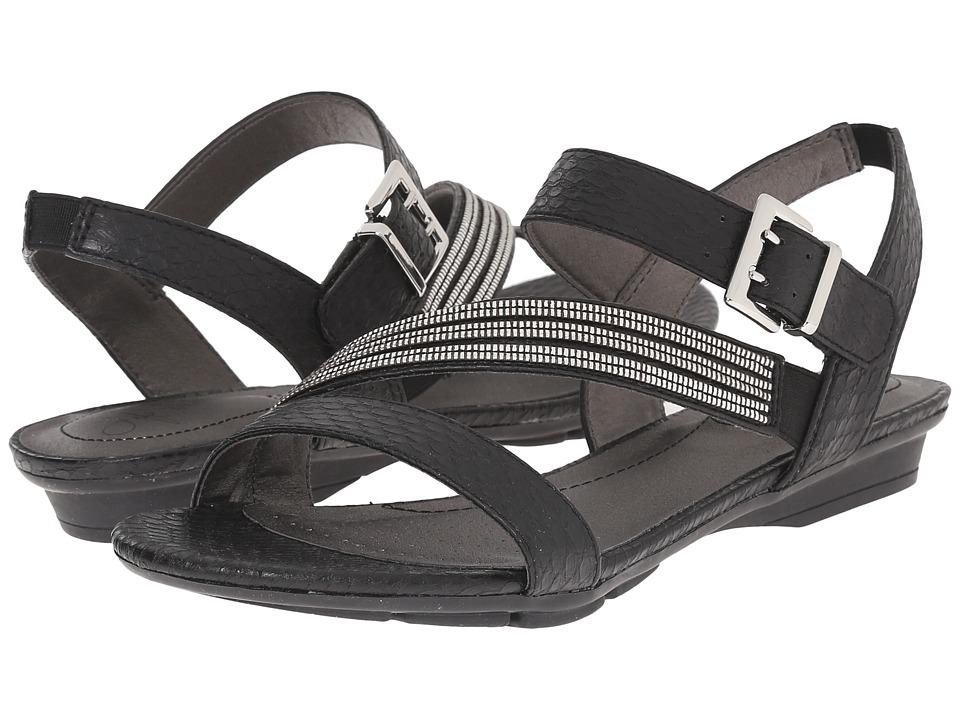 LifeStride - Enchant (Black Cano) Women's Sandals