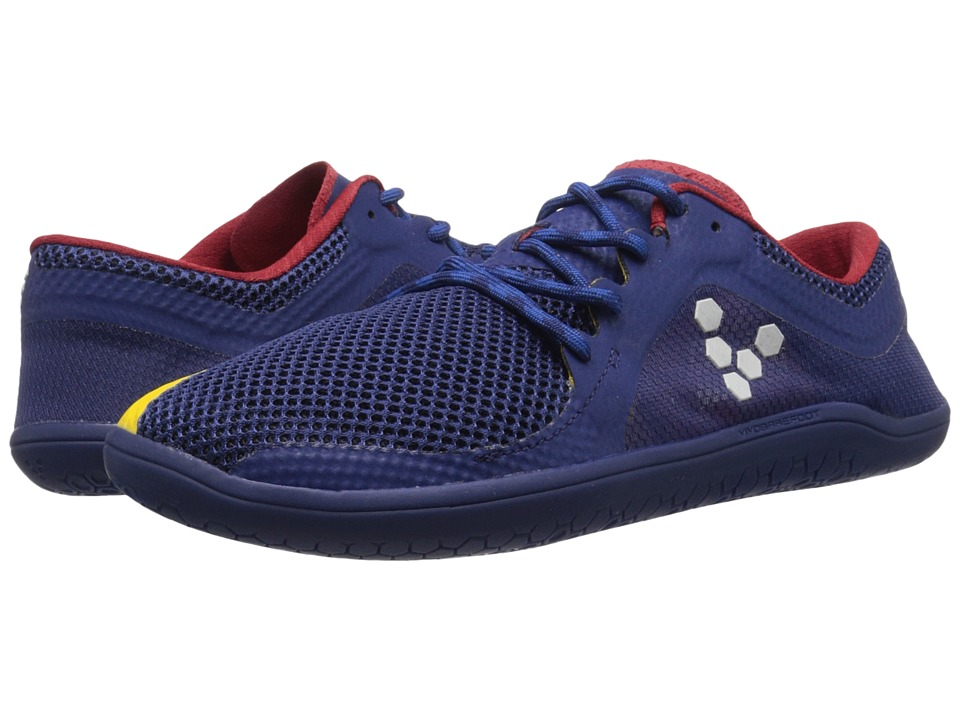Vivobarefoot Primus Road (Navy/Red/Yellow) Women