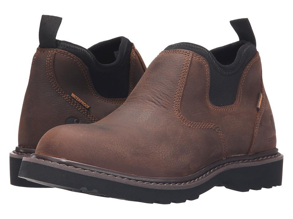 Carhartt - Waterproof Romeo (Bison Brown) Women's Slip on Shoes