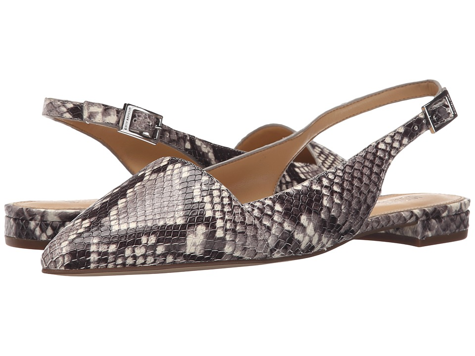 MICHAEL Michael Kors - Claudia Flat (Natural Luxury Embossed Python Merlot) Women's Shoes