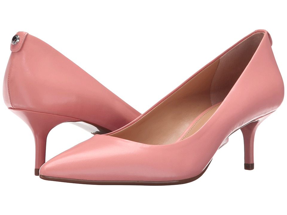MICHAEL Michael Kors - MK Flex Kitten Pump (Pale Pink Smooth Kid) High Heels