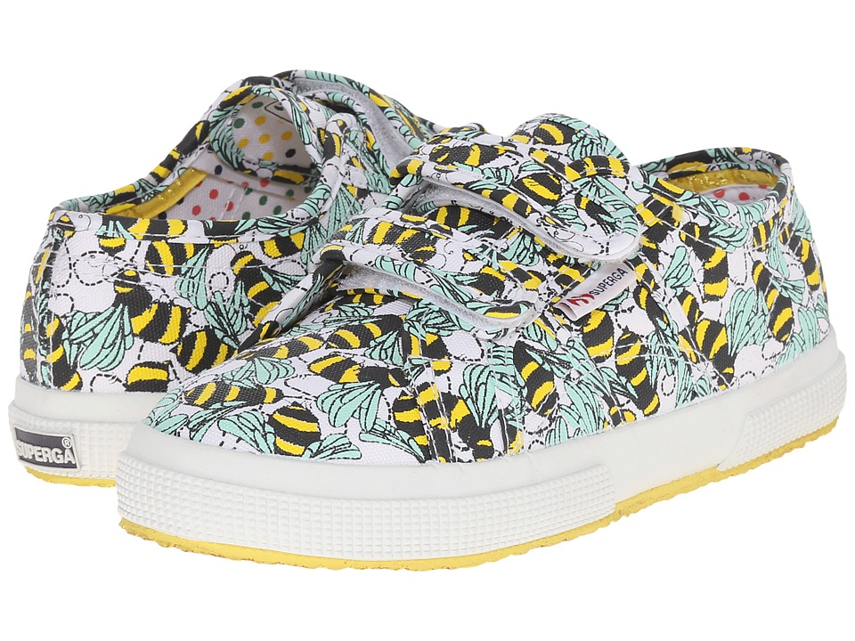 Superga Kids - 2750 FantasyCovj (Infant/Toddler/Little Kid/Big Kid) (Bees) Girl's Shoes