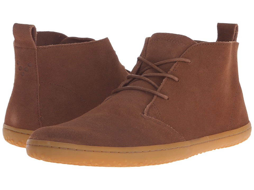 Vivobarefoot - Gobi II M Leather (Chestnut Suede) Men's Shoes