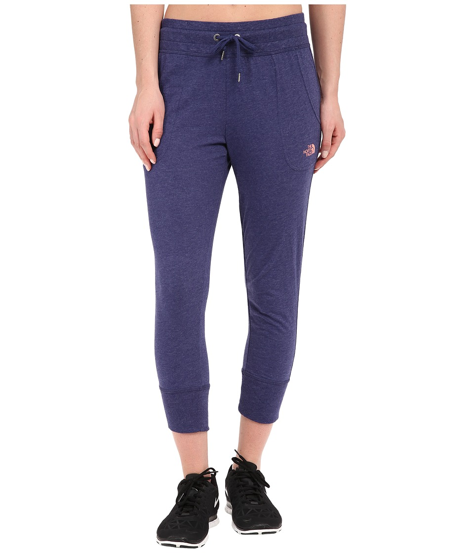 The North Face - Jersey Capris (Patriot Blue Heather) Women's Capri