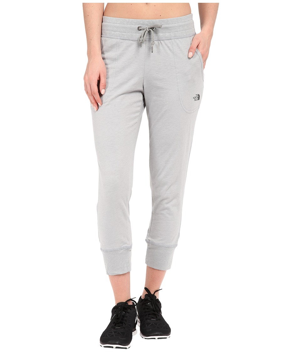 The North Face Jersey Capris (TNF Light Grey Heather) Women