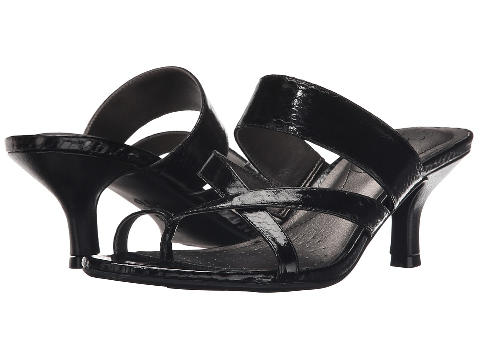 LifeStride - Frolic (Black Sparkler) Women's Dress Sandals