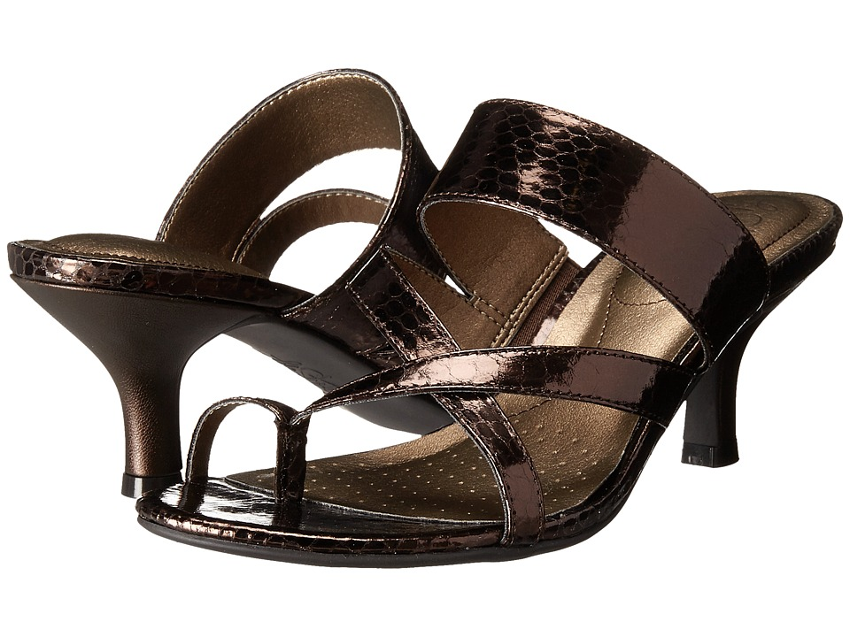 LifeStride - Frolic (Bronze Sparkler) Women's Dress Sandals